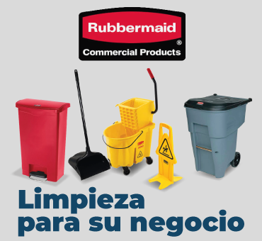 Banner Index Rubbermaid Commercial